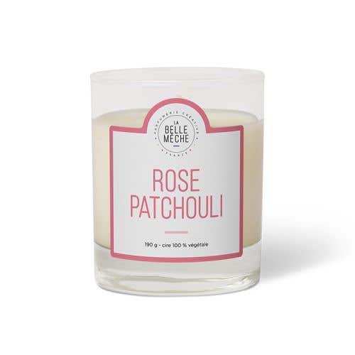 玫瑰廣藿香香氛蠟燭